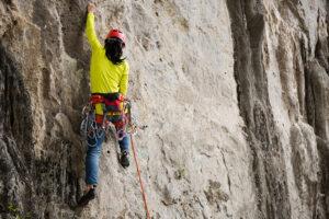 Vías de escalada en cazorla vertical