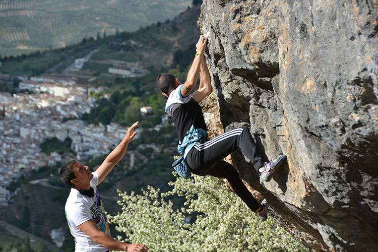 escalada riogazar Cazorla